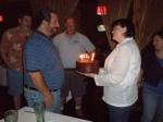 My husband's birthday party